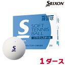 スリクソン(SRIXON) ソフトテニスボール《練習球》 1ダース STBPRA2DOZ