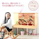 【今だけポイント10倍】雛人形 コンパクト 雛人形 ケース飾...