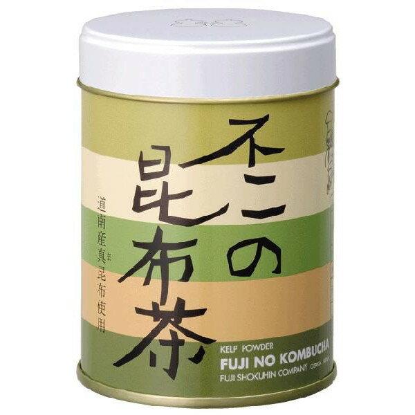 不二の昆布茶70g缶