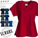 Yネックチュニックトップ Z1002/レディース XS〜L 全11色 スクラブ 手術衣 女性/SCRUBS(スクラブス) スマートスクラブス
