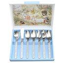 ピーターラビット 食器 グッズ カトラリー キャラクター peter rabbit イギリス 食器 かわいい セット PF-12 モーニング7本セット