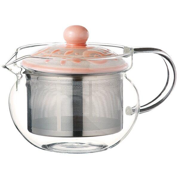 ガラスポット 耐熱 耐熱ガラス 陶器 日本製 ガラス ティーポット かわいい おしゃれ 波佐見焼ガーデン SSポットP ガラス 12790