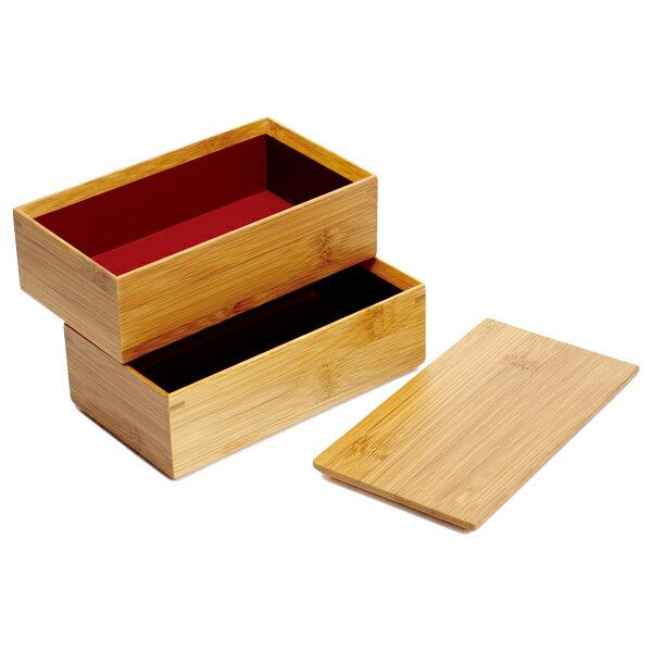 kodawarizakkahompo rakuten global market lunch bento box double lunch box toy bamboo fashion. Black Bedroom Furniture Sets. Home Design Ideas