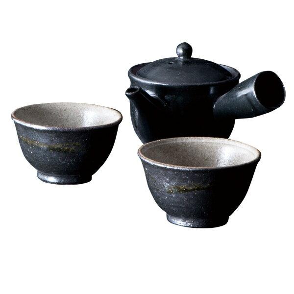 食器茶器カップ急須湯呑ペアセットお茶おしゃれモダン贈り物プレゼント陶器信楽焼日本製Sumi-iroふ