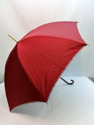 通年新作)雨傘・長傘 甲州産先染め裏小花マイナスイオン日本製手開き雨傘 甲州産先染め無地生地に小花柄を裏プリントした手開き雨傘です。裏面の小花柄からマイナスイオンが発生し心身をリラックスさせる効果があります。オシャレで体のためになる傘です。