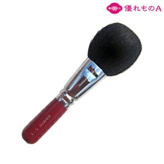【 熊野筆 メイクブラシ 】ぼってりチークブラシ(粗光峰)[化粧筆][熊野化粧筆][熊野ブラシ][熊野メイクブラシ][KUMANO brush]【優れものA】