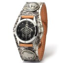KC,s ケイシイズ 時計 スリーコンチョ ウォッチブレス マットパイソン ニシキヘビ革 KPR501 腕時計 革ベルト メンズ レディース KC,s l..