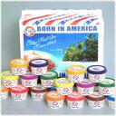 沖縄のアイスといったらやっぱりブルーシール♪沖縄の素材を使ったアイスを種類も豊富にセットにしました☆【ブルーシール】沖縄の定番アイスクリームよりうれしいセット☆ハッピーアイランドパック