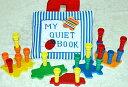 布絵本教育玩具MY QUIET BOOK ブルーストライプ&ローリー知能開発玩具ペッグボードセットプレイ&ラーンギフトセット!!幼児教育【知能開発レッスンブック】選んで!!無料ギフトラッピング