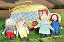 布おもちゃ布絵本スクールバス・ようちえんバスMY TRAVEL/MY SCHOOL BUS幼児教育選んで!!ギフトラッピング