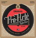 D'Addario EJ-49 Silver/Black/Normal クラシックギター弦【送料無料】