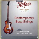 HOFNER 1133CR Contemporary Violin Bass Strings Round Wound【送料無料】