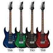 Ibanez GRX70QA エレキギター入門セット アクセサリーキット+アンプ付き入門用セット【レビュー特典付き】【送料無料】