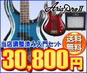 Aria ProII IGB-STD エレキベース入門セット【レビュー特典付き】【送料無料】