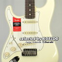 【New】Fender フェンダー USA American Professional Stratocaster Left Hand RW OWH(selected by KOEIDO)店長厳選、希少な別格の最新..