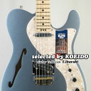 【New】Fender フェンダー USA American Elite Telecaster Thinline MIB/M(selected by KOEIDO)店長厳選!命を持ち艶やかに歌う別格の..