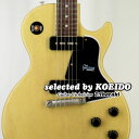 【New】Gibson Custom Shop 1960 Les Paul Special SC VOS TVY(selected by KOEIDO)久々店長厳選別格のスペシャル、真のP-90トーンがこ..