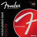 Fender 250L Guitar Strings【送料無料】【smtb-tk】