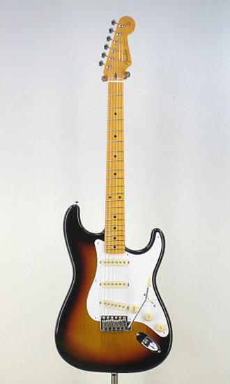 Fender Japan Exclusive Classic 58 Strat 3TS/M(Fine Tuned by KOEIDO)【送料無料】【フェンダーストラップ、コンパクトギタースタンド&レビュー特典付き】ST58