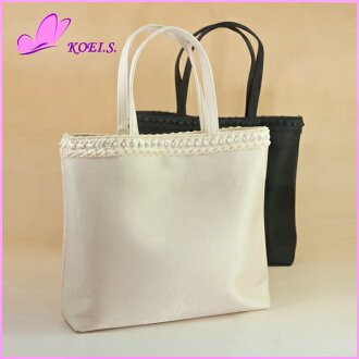Party bag review mentioned in high-quality satin sub bags party bag wedding bag Sabbag formal bag entrance ceremony graduation back mothers ceremonial secondary society]