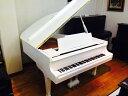 【中古再調整品グランドピアノ】カワイ KG1 <全塗装/ホワイト艶出し仕上げ>