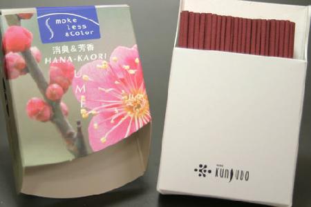 薫寿堂のお香花かおり うめ スティックミニ寸