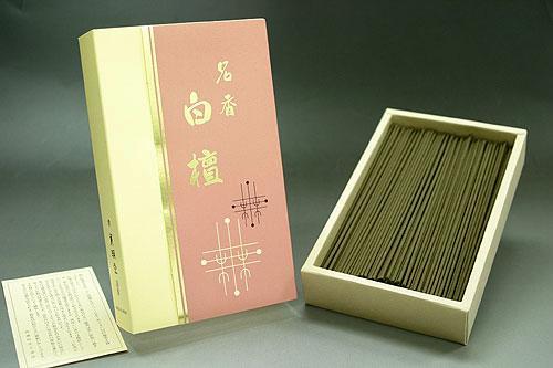 薫明堂製 白檀の香りのお線香 名香白檀 徳用バラ詰