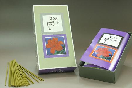 【香木と香油をブレンドしたお線香】大発 のりはしバラ詰4箱
