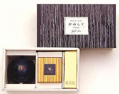 【お香】日本香堂 かゆらぎ橙