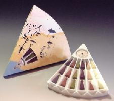 【香水系の香りのお香】山田松香木店花昔香(かしゃくこう)コーン型