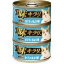 ネスレ 味キラリ ゼリーまぐろと糸より鯛 80g×3缶パック