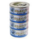 コーナン オリジナル まんぷくミニ缶ゴールド まぐろかつお味 ゼリータイプ 70g×4缶