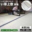 コーナン オリジナル LIFELEX い草上敷 聚楽 本間 3帖約191×286cm