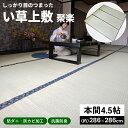 コーナン オリジナル LIFELEX い草上敷 聚楽 本間 4.5帖約286×286cm