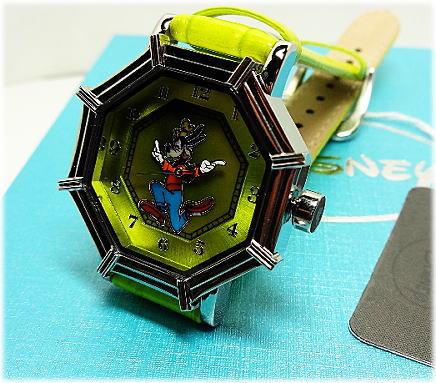 ディズニー【あす楽対応】「世界50本限定生産Disney クオーツ「グーフィー」腕時計