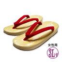 【あす楽】【大きいサイズ】女性用 草履(ぞうり) 赤鼻緒 サンド底(スポンジ底)3L寸(特大)/天部分:25cm