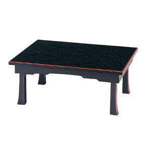 盆棚|精霊棚|お盆用飾り台[黒塗面朱][折畳式][板バネ式]幅2.0尺