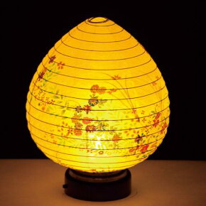 モダン提灯結花(ゆいか)木製