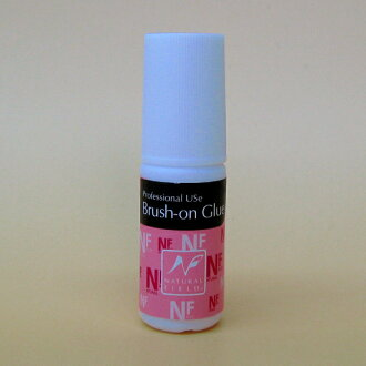 For nail brush with glue (adhesives) NFS (natural fields) ブラッシュオングルー 6 g nail glue