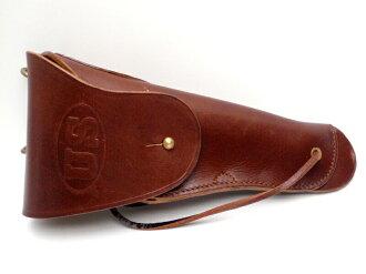 美國陸軍美國柯爾特 M1911 M1916 皮革皮套 1917年棕色重現