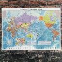 世界地図 A2 「世界の言葉ありがとう」 【東京カートグラフィック】