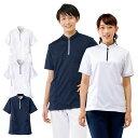2346 メディカルプルオーバージャケット(男女兼用)【医療 ナース 看護 白衣】