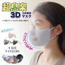 超息楽夏用3Dマスク 7枚入(7...