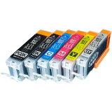 【高品質】キヤノン BCI-351XL+350XL 超ハイクオリティ互換インク 増量6色セット BCI-351XL+350XL/6MP【メール便送料無料】