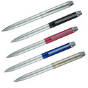 セーラー万年筆 メタリノ マット(2色ボールペン+シャープペンシル)全5色 16-0109 全5色から選択