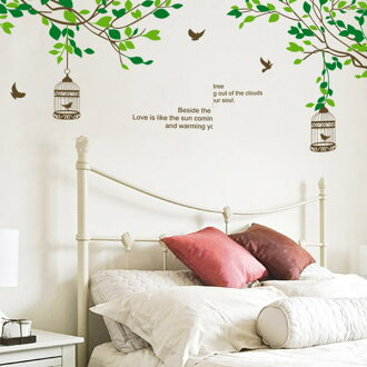 易的壁貼紙和剝離 < 小鳥 >
