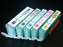 キヤノン用 BCI-371/370専用 プリンター目詰まり洗浄カートリッジ 5色用セット