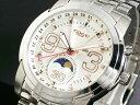 【送料無料】大人気!コグの腕時計COGU コグ 腕時計 ムーンフェイズ C41-WHG(sb)【送料無料】 ホワイト&ゴールド【あす楽対応】