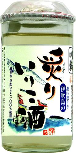 川鶴 炙りいりこ酒180mlの商品画像