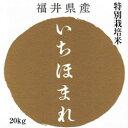【キャッシュレス5%還元対象】新米 いちほまれ 特別栽培米20kg 5kg×4袋 おもたせ 贈答 内祝い お祝い お歳暮